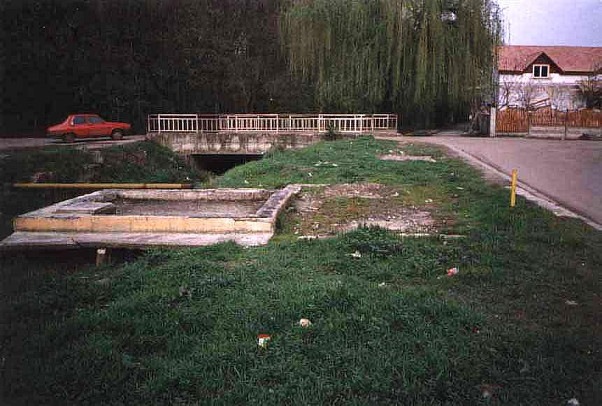 Grundplatte des ehemaligen Wärterhauses