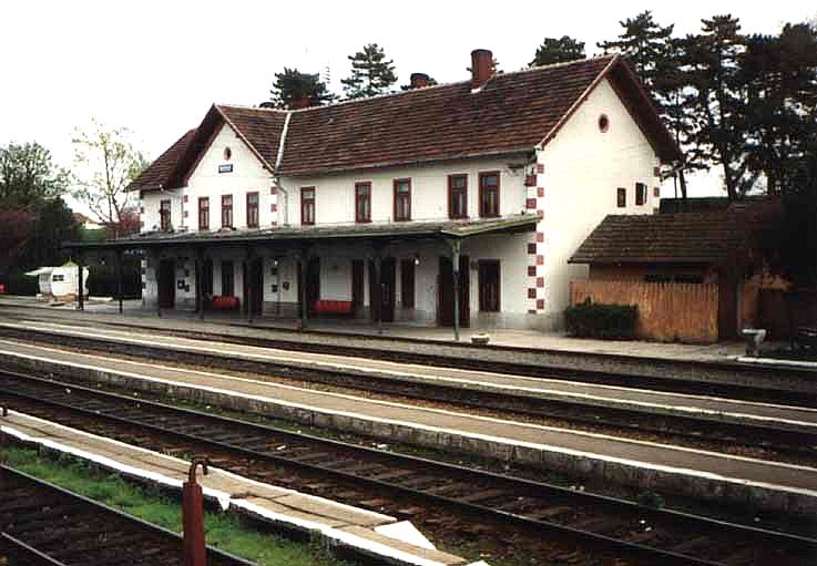 Das Bahnhofsgebäude