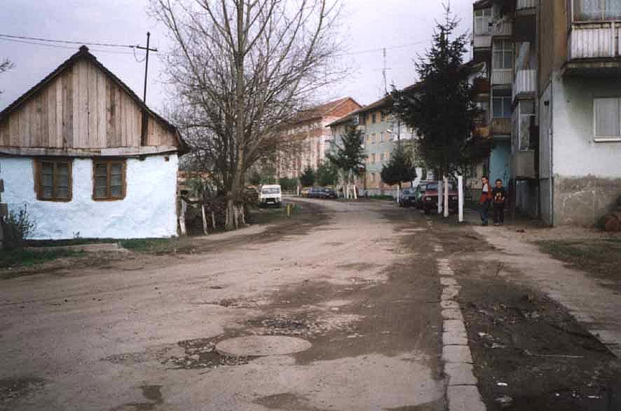 Das Olácsy-Haus in der Kurve
