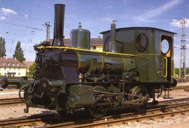 """Lok 1222, eine ältere Schwester der """"Etelka"""""""