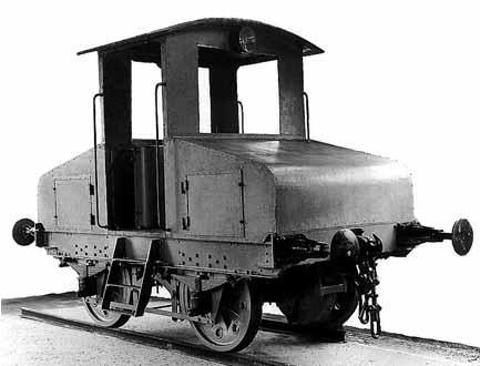 Diese Lokomotive sieht der damaligen Rangierlok sehr ähnlich.